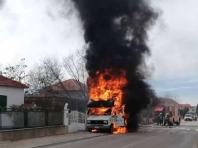 Požar cestovnog vozila